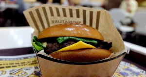 Aryzta makes burger buns for clients including McDonald's. Photograph: Bobby Yip/Reuters
