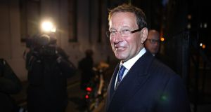 British businessman Richard Desmond, whose Northern & Shell group owns 50 per cent of 'Independent Star'. The stake is being acquired by 'Mirror' publisher Reach. Photograph: Peter Macdiarmid / Getty Images.