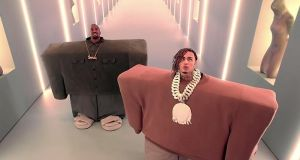 Kanye West and Lil Pump: a forgettable nugget of horny hip hop