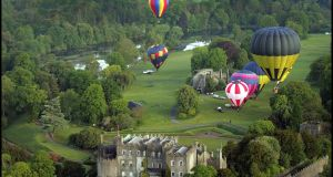 The Irish Hot Air Ballooning Championships begin September 23rd at  Birr Castle Gardens.  Brenda Fitzsimons