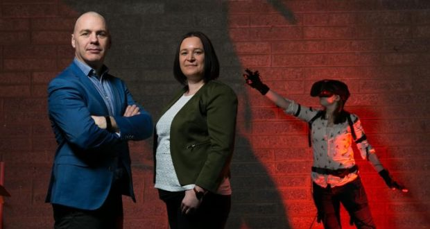 David and Sandra Whelan, Immersive VR Education chief executive and chief operating officer respectively. David Whelan, CEO and Sandra Whelan, COO, Immersive VR Education. Picture by Shane O'Neill, SON Photographic