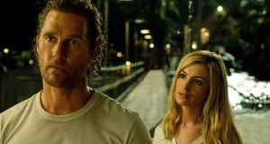 Matthew McConaughey and Anne Hathaway in 'Serenity'