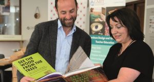 Dermot O'Donovan and Marion McGarry of GMIT Letterfrack, authors of See The Wood From The Trees