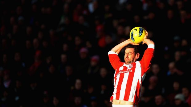 Former Ireland and Stoke player Rory Delap was renowned for his throw-ins. Photo: Laurence Griffiths/Getty Images