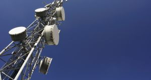 Cignal offers services to the main mobile and wireless service providers in Ireland, the emergency services and FM radio stations, with multiple customers using each tower. Photograph: iStock