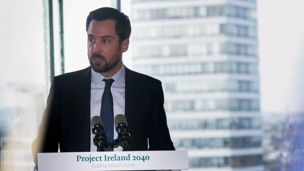Minister for Housing Eoghan Murphy said affordable homes would cost €320,000 in the greater Dublin area, Cork and Galway and €250,000 in other parts of the country. Photograph: Gareth Chaney/Collins