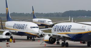 "Ryanair's chief people officer, Eddie Wilson, said the agreement will ""start from next month"". Photograph: Wolfgang Rattay/Reuters"