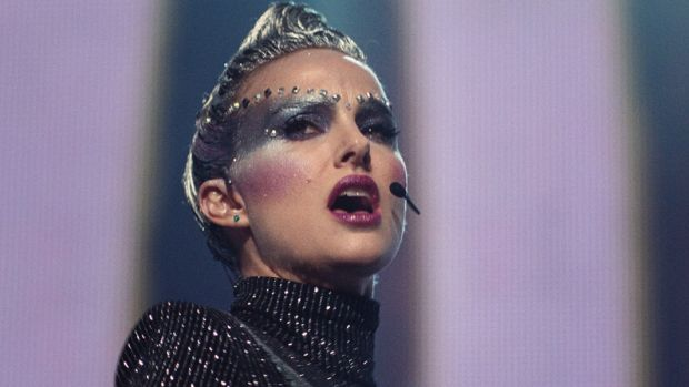 Natalie Portman features as a troubled pop star trying to pull herself together before a big gig in her home city.