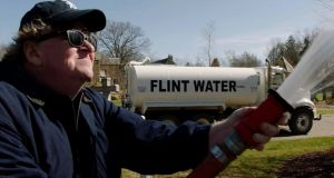 Michael Moore returns to his hometown of Flint and looks into the extraordinary capitalist banditry that led to the poisoning of the city's water supply.