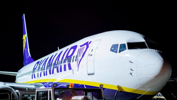 Up, up and... down. Ryanair's woes continue. Photograph: Marcel Kusch/AFP/Getty Images