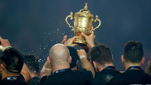 The All Blacks are odds-on favourites to win a third Rugby World Cup on the bounce. Photograph: Dan Sheridan/Inpho