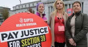 Thousands of Siptu members in State-funded organisations providing health and social care have deferred a one-day strike in a dispute over pay restoration.