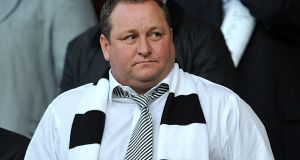 Why is Mike Ashley still doing it? Is it really to plaster St James' Park in Sports Direct logos? Is there not a simpler, less time-consuming form of advertising? Photograph:  Martin Rickett/PA