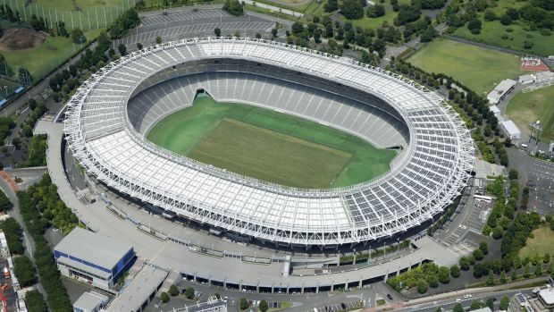 Ajinomoto Stadium in Chofu. Photograph: Kyodo News via Getty Images