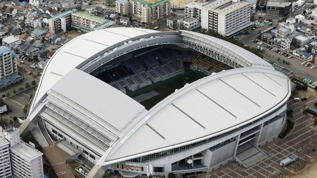 Noevir Stadium in Kobe. Photograph: Kyodo News via Getty Images
