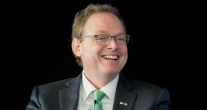 Kevin Hassett, chair of the White House Council of Economic Advisers: blames former US administrations for multinationals' decisions to funnel their profits through the Republic. Photograph:  Gareth Chaney Collins