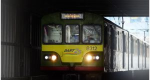 Irish Rail is to add more Dart services on Dublin's northside from Monday in an attempt to address capacity issues. Photograph: Bryan O'Brien/The Irish Times.