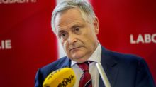 Labour Party leader Brendan Howlin: Labour isn't getting noticed much these days. It has drifted to the margins. Photograph: Brenda Fitzsimons