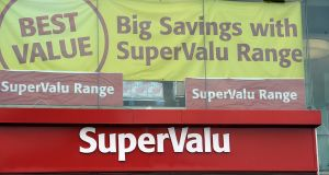 Musgrave operates or supplies 36 SuperValu stores in the North, as well as 83 Centra outlets. Photograph: Cyril Byrne
