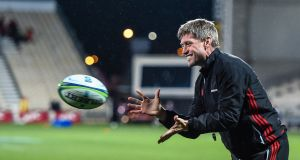 Crusaders assistant coach Ronan O'Gara before his side's clash with  Hurricanes earlier this year. Photograph: John Davidson/Inpho