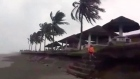 Typhoon Mangkhut lashes the Philippines with 200km/h winds