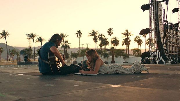 The fourth version of A Star is Born – the fifth according to some pernickety film historians – has its North American premiere at Tiff. As you won't need to be told, Bradley Cooper is now the aging drunk and Lady Gaga is the talented ingénue who gets taken under his wing. Photograph: Tiff