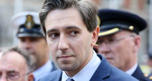 "Minister for Health Simon Harris. The Department of Health papers note that ""a key issue for health agencies, where unfunded pension liabilities are recognised, is the absence of a matching pension asset"". Photograph: Brian Lawless/PA Wire"