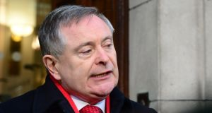 "Brendan Howlin  said he spoke to President Higgins in recent days, and predicted a ""broad coalition"" will back his re-election. Photograph: Cyril Byrne"