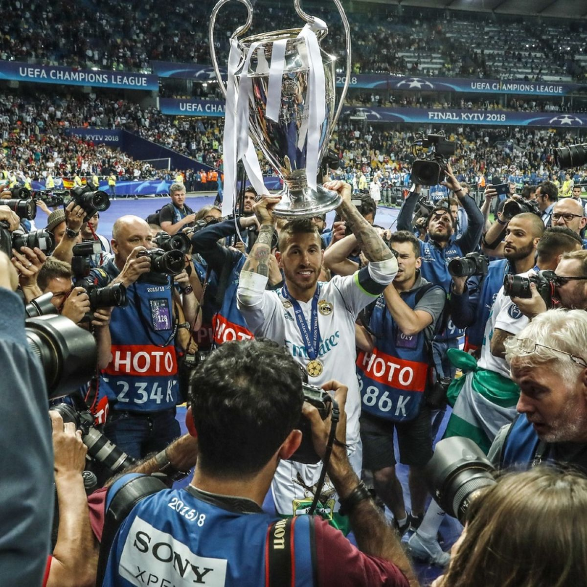 How can I watch Champions League on TV in Ireland?