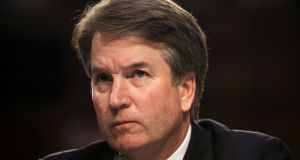 Supreme court nominee Brett Kavanaugh: categorically denied the allegations of an attack last week after a New Yorker article published details of the alleged incident without including the name of the accuser. Photograph:  Alex Wroblewski/Reuters