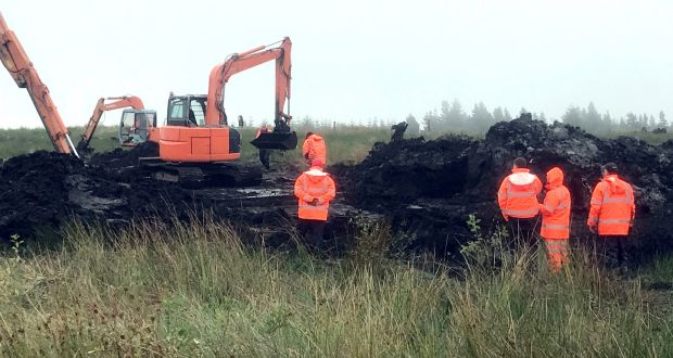 Digging continues in Co Monaghan bog for remains of Columba