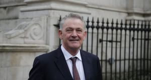 Presidential hopeful Peter Casey. Photograph: Nick Bradshaw