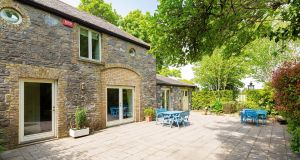 The separate accommodation is now a two-bed 86sq m (966sq ft) converted coach house, designed with wheelchair access.