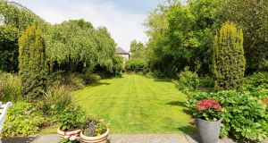 Glencar on Templeogue Road in Terenure has 0.3 of an acre of gardens.