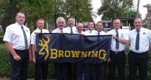 The Garda Siochana coarse angling team who won gold in Holland. Photograph courtesy of Gijs Nederhof