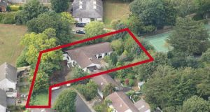 The  site at 4 Oakton Court in Ballybrack extends to 0.3 acres and contains a large derelict bungalow