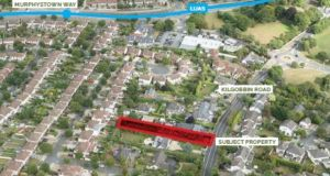 The 0.2-acre site at 80 Kilgobbin Road in Sandyford has a derelict cottage with planning permission