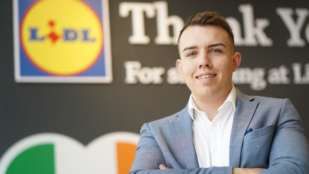 Lidl's 18-month graduate programme allowed Stephen Harpur to fast-track his career to become one of the youngest executives on the Lidl Ireland team.