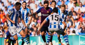 Statsports has 500 clients, including leading European soccer clubs such as Barcelona. Photograph: Aitor Alcalde/Getty Images