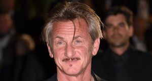 "Sean Penn: ""I don't want it to be a trend, and I'm very suspicious of a movement that gets glommed onto in great stridency and rage and without nuance."" Photograph: Alberto Pizzoli/AFP/Getty"