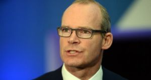 Simon Coveney briefed Cabinet on Tuesday. Photograph: Cyril Byrne
