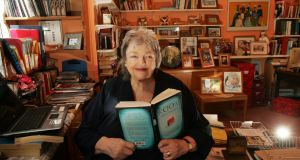 "Maeve Binchy has been bestowed with ""national treasure"" status but her brand of  storytelling wasn't included in this year's praised anthology of women writers, The Long Gaze Back. Photograph: Cyril Byrne"