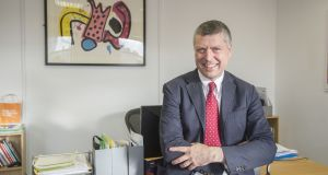 British Council chief  Ciaran Devane was also a former member of the board of NHS (National Health Service) England.  Photograph: Brenda Fitzsimons
