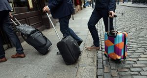 Airbnb has provided tax authorities with details of residents in the Republic who have used its site to let rooms, apartments or houses to tourists and other visitors. Photograph: Cyril Byrne