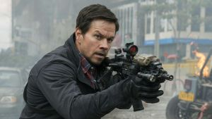 'Who are you calling a bipolar f***?' Mark Wahlberg in 'Mile 22'