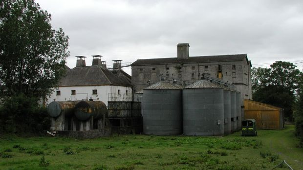 Ballykelly Mill, near Monasterevin, where plannning permission is being sought for a distillery and visitor centre. Photograph: copyright National Inventory of Architectural Heritage