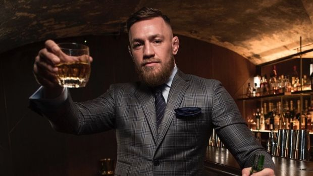 MMA champion Conor McGregor launched his Proper No Twelve Irish whiskey on Monday
