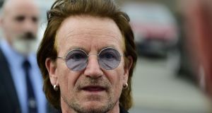 Bono is backing developer and businessman Paddy McKillen's plans for a distillery in Co Kildare. Photograph: Tobias Schwarz/Getty Images