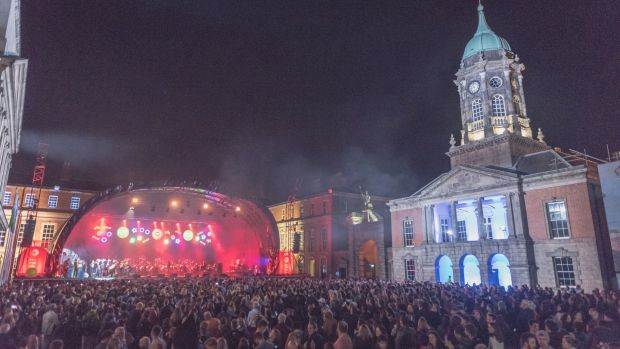 This year RTÉ's Open Air Concert will move from Dublin Castle to Collins Barracks, Arran Quay