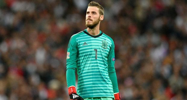 """df70b0ff4 David de Gea  """"I feel really loved in this club."""" Photograph"""